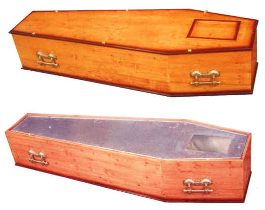 cercueil en zinc